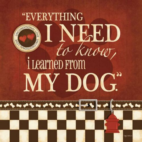 Everything I Need to Know I Learned From My Dog by Kathy Middlebrook
