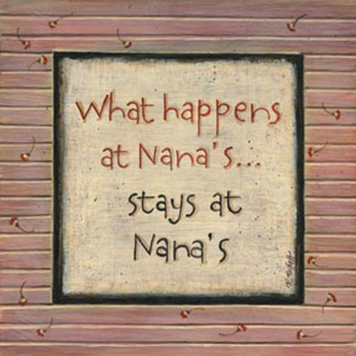 What Happens at Nana's by Karen Tribett