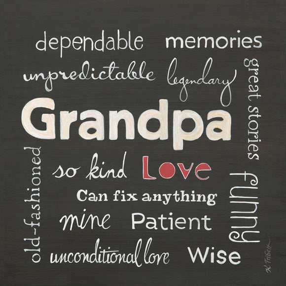 Grandpa Love by Karen Tribett
