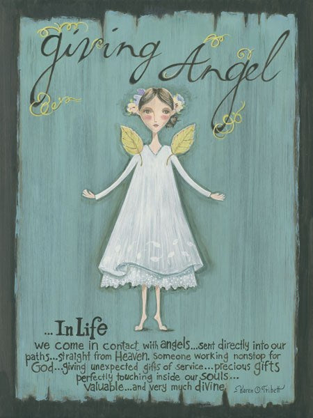Giving Angel by Karen Tribett