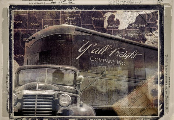 Y'all Freight Co by Mindy Somners