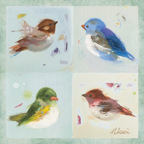 Birds II by Ninalee Irani