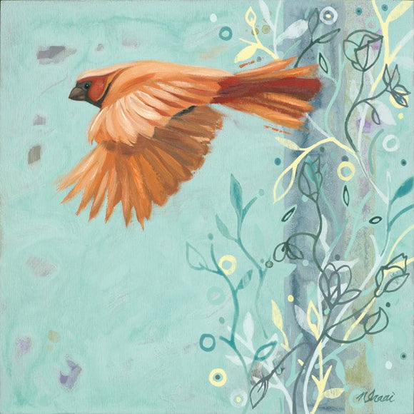 Bird In Flight by Ninalee Irani