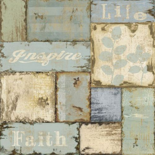 Inspirational Patchwork IV by NBL Studio