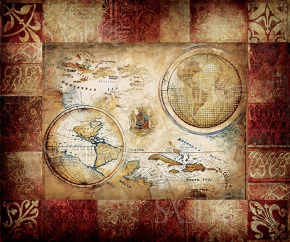 New World Map by Pied Piper