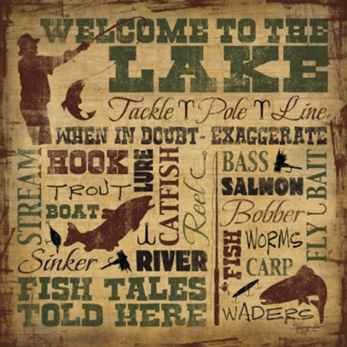 Welcome to the Lake by Shawnda Craig