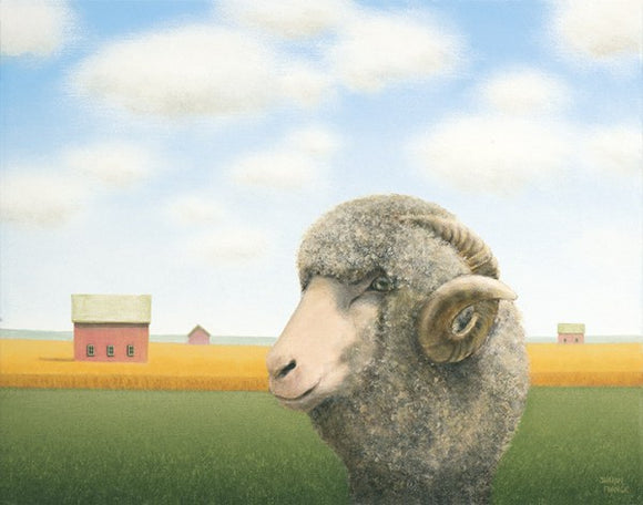 Out for a Wander (Ram) by Sharon France