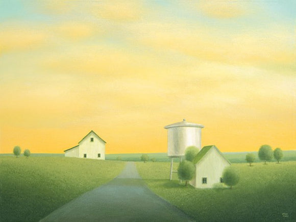 Road Past the Old Water Tower by Sharon France