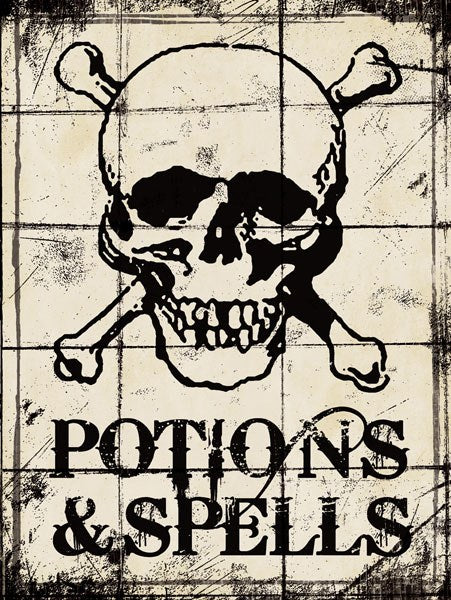 Potions and Spells - Halloween by Stephanie Marrott