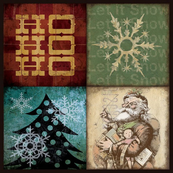 Holiday Patch IV by Stephanie Marrott