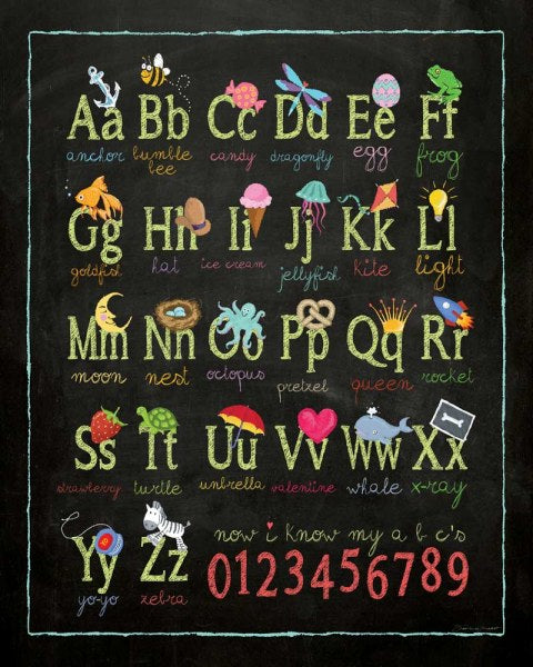 Alphabet by Stephanie Marrott