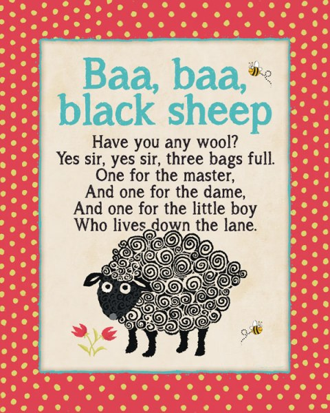 Baa Baa Black Sheep by Stephanie Marrott