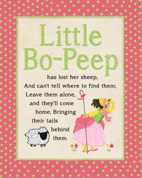 Little Bo-Peep by Stephanie Marrott