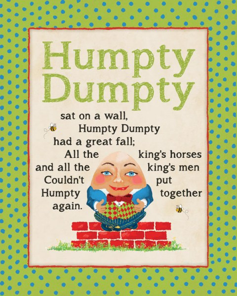 Humpty Dumpty by Stephanie Marrott