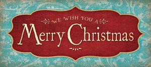 We Wish You A Merry Christmas by Stephanie Marrott