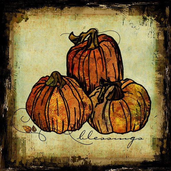Pumpkins by Sally Barlow