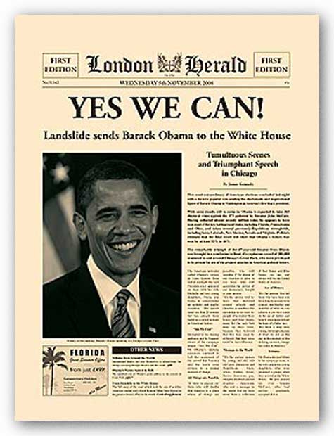 Yes We Can! by Vintage Collection
