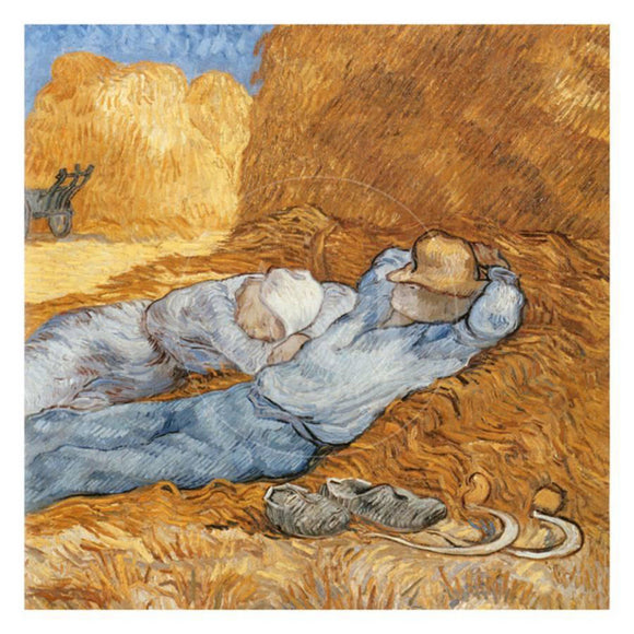 La Sieste du Chat I The Siesta Rest from Work by Vincent van Gogh