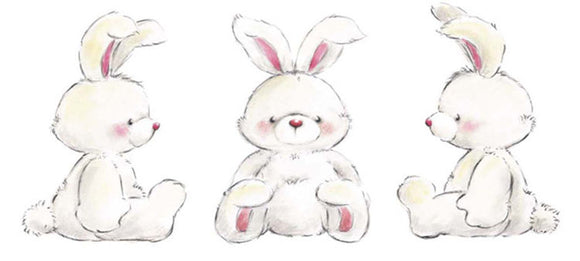 Rabbits by Makiko