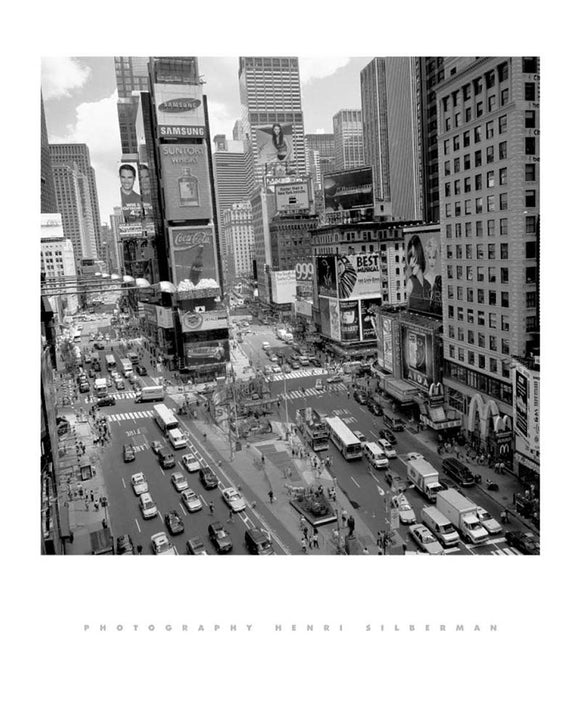Times Square Afternoon by Henri Silberman
