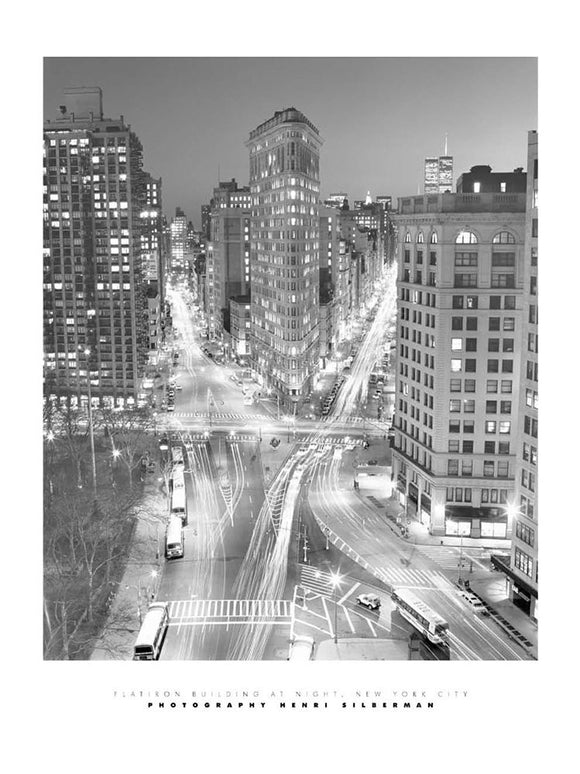 Flatiron Building New York by Henri Silberman