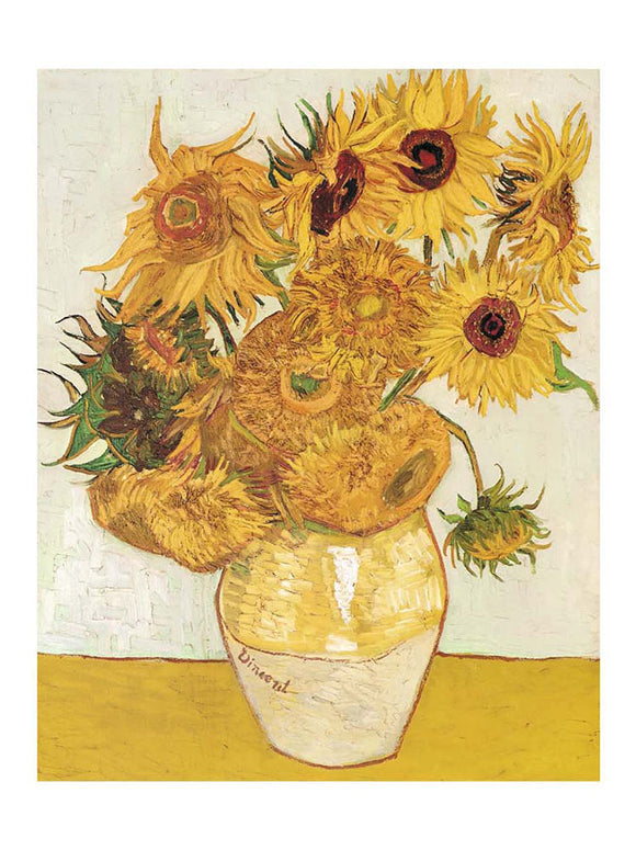 Les Tournesols Sunflowers by Vincent van Gogh