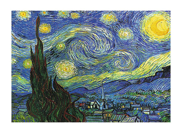 Nuit Etoilee a St Remy The Starry Night c. 1889 by Vincent van Gogh