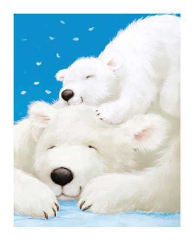 Fluffy Bears II by Alison Edgson