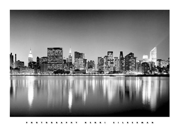 Manhattan East Side New York by Henri Silberman