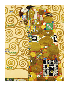 Die Erfullung The Tree of Life Stoclet Frieze c.1909 by Gustav Klimt