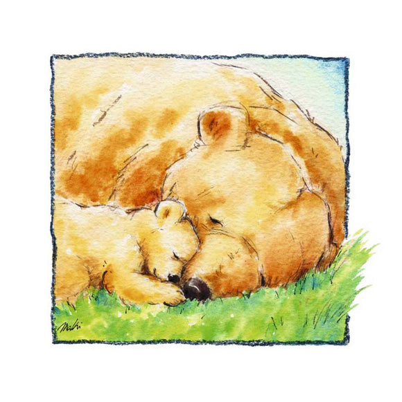 Mother Bear's Love II by Makiko