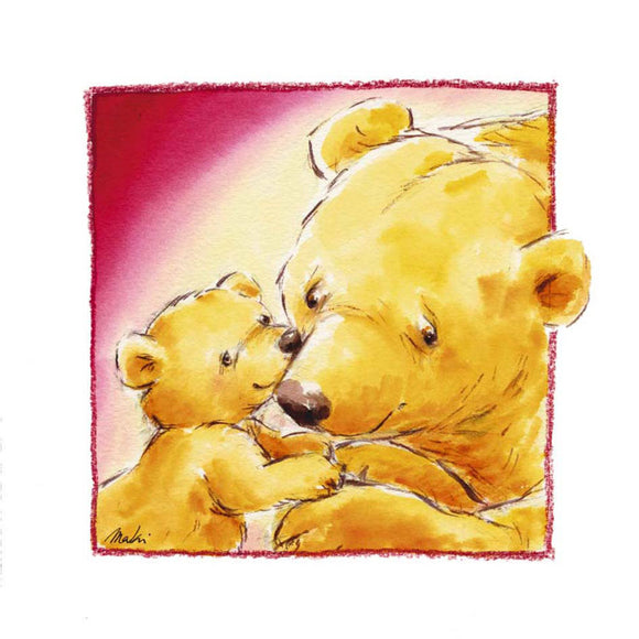 Mother Bear's Love III by Makiko