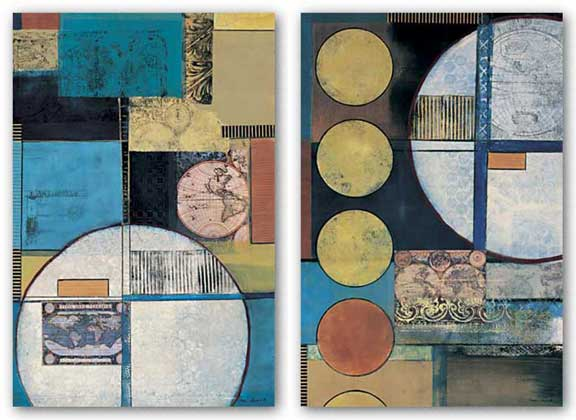 Global Abstraction Set by Connie Tunick