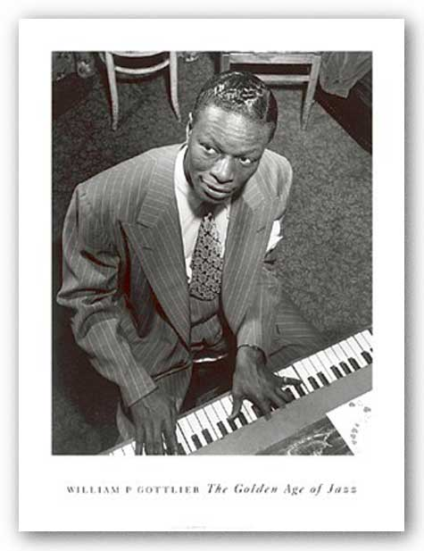 Nat King Cole by William Gottlieb