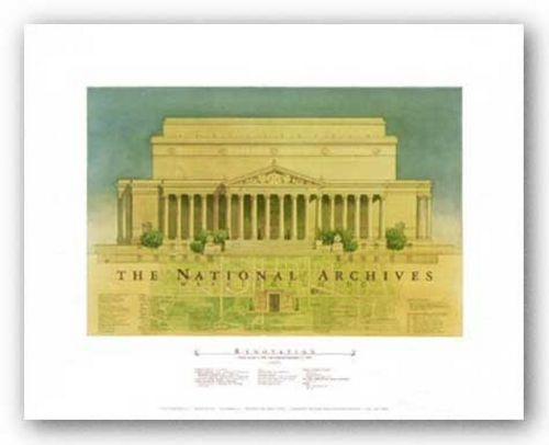 The National Archives, Washington DC by Craig Holmes