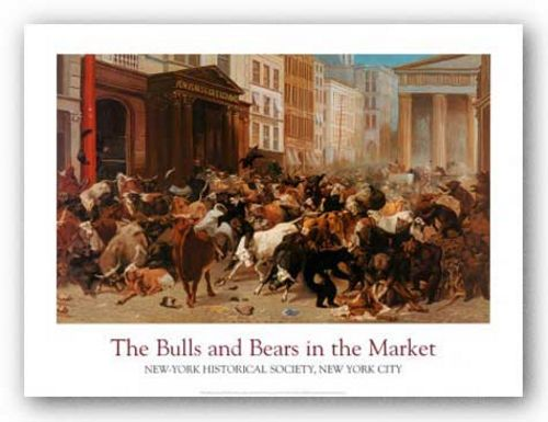 The Bulls and Bears in the Market by William Holbrook Beard