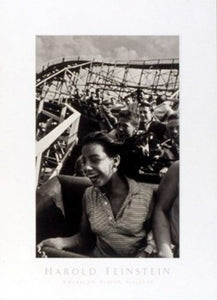 Cyclone Roller Coaster, Coney Island, 1952 by Harold Feinstein
