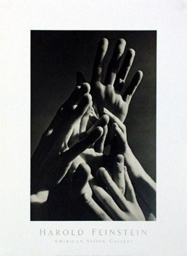 Aspiring Hands, 1977 by Harold Feinstein