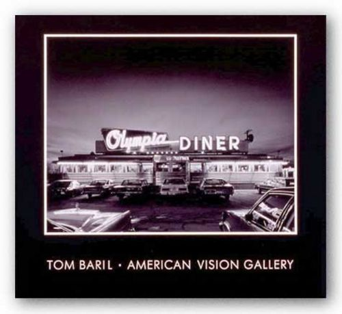 Olympia Diner, Newington, Connecticut by Tom Baril