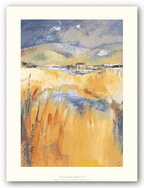 Golden Landscape by Wendy French