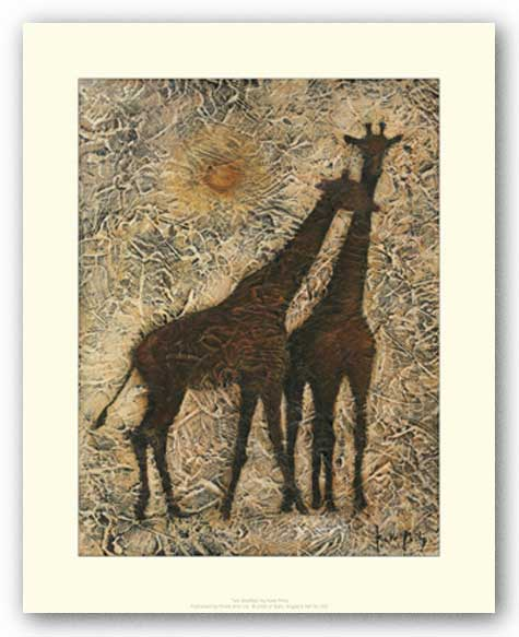 Two Giraffes by Kate Philp