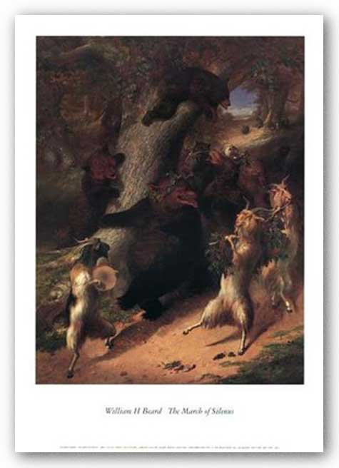 The March of Silenius by William Holbrook Beard