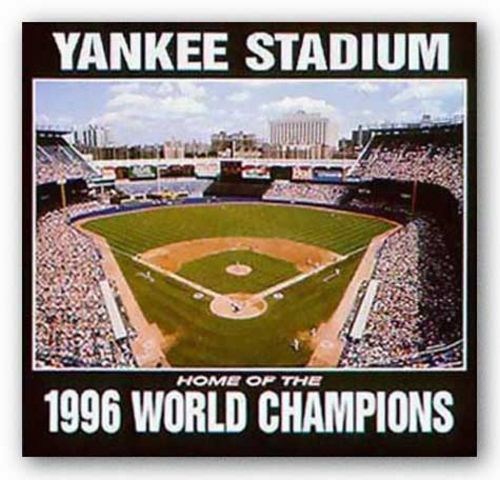 Yankee Stadium - World Champions 1996 - New York Yankees by Ira Rosen