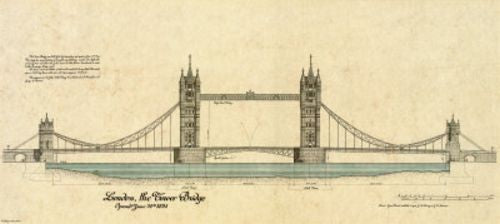 Tower Bridge London by Yves Poinsot