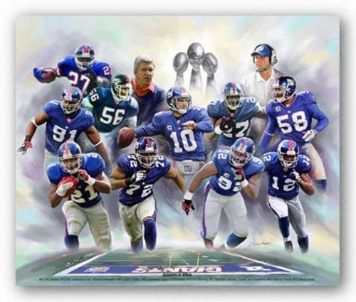 Essence of G-Men (New York Giants) by Wishum Gregory
