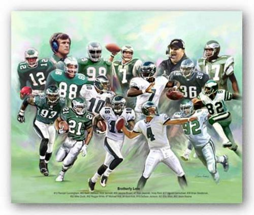 Brotherly Love (Philadelphia Eagles) by Wishum Gregory