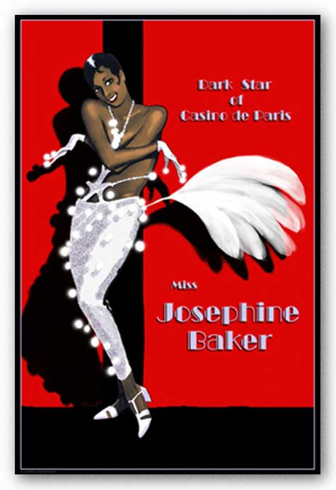 Josephine Baker - Dark Star of Casino de Paris by Clifford Faust
