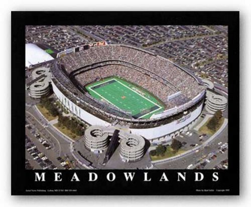 East Rutherford, New Jersey - Giants Stadium - New York Jets by Brad Geller
