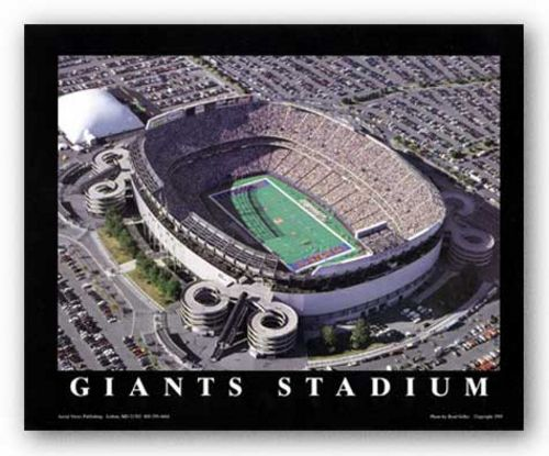 East Rutherford, New Jersey - Giants Stadium - New York Giants by Brad Geller