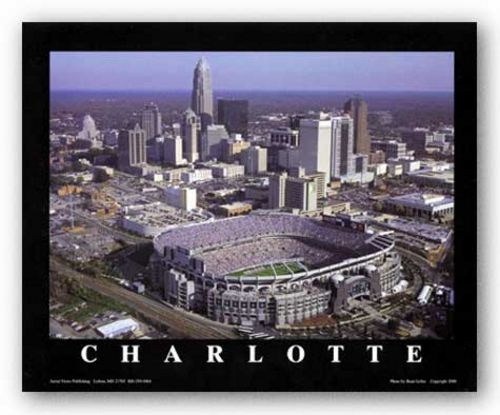 Charlotte, North Carolina - Ericsson Stadium - Carolina Panthers by Brad Geller